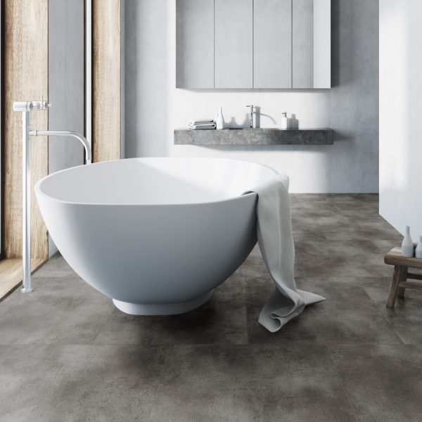 Rigid Core Tile 8800 Beton Grey Sfeer