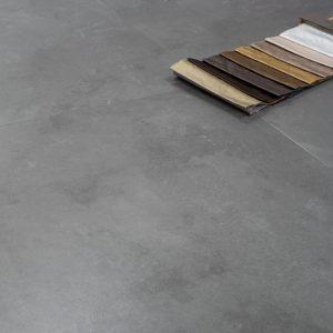 Floer Tegel PVC Natuursteen Matgrijs Sfeer